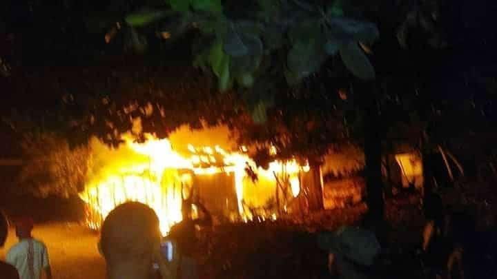 Barahona: Tres muertos al incendiarse vivienda
