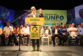 Frente Amplio proclama a Luis Abinader como candidato