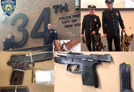 Policía precinto 34 combate crimen Alto Manhattan
