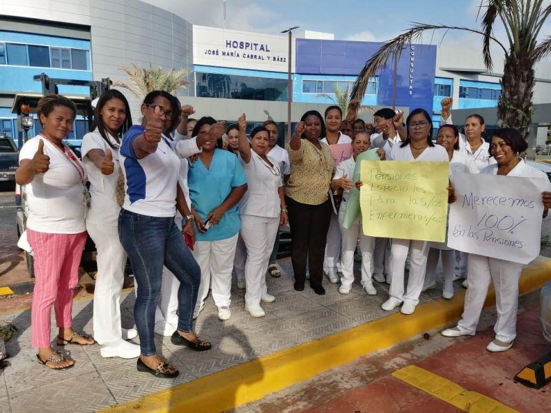 Enfermeras hospital Cabral y Báez acatan llamado a paro