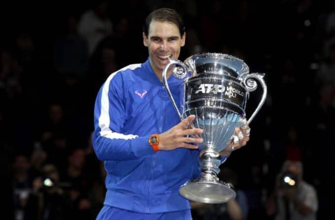 Rafael Nadal vence al griego Stefanos Tsitsipas