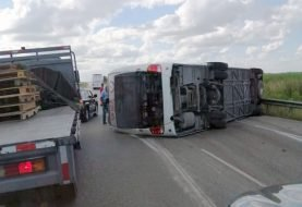 Al menos 19 rusos heridos accidente de tránsito autovía del Coral