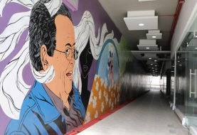 Roban obras de arte túnel cultural de Santiago