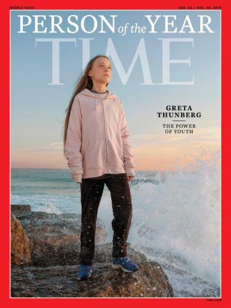 'Time' nombra a, Greta Thunberg, Persona del año 2019