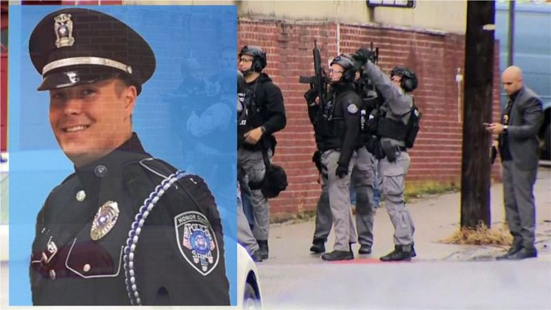 Jason Michael  Seals oficial muerto tiroteo Jersey City