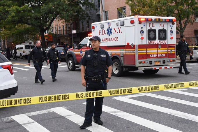 ¿Cuántas personas han muerto a tiros en Nueva York en 5 años?