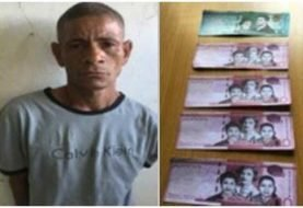 PN ocupa billetes falsos en Montecristi