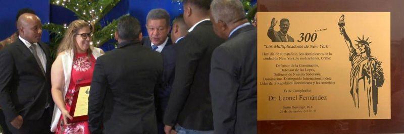 """Comisión """"300 con Leonel"""" viaja a RD reconocer ex presidente en su cumpleaños"""