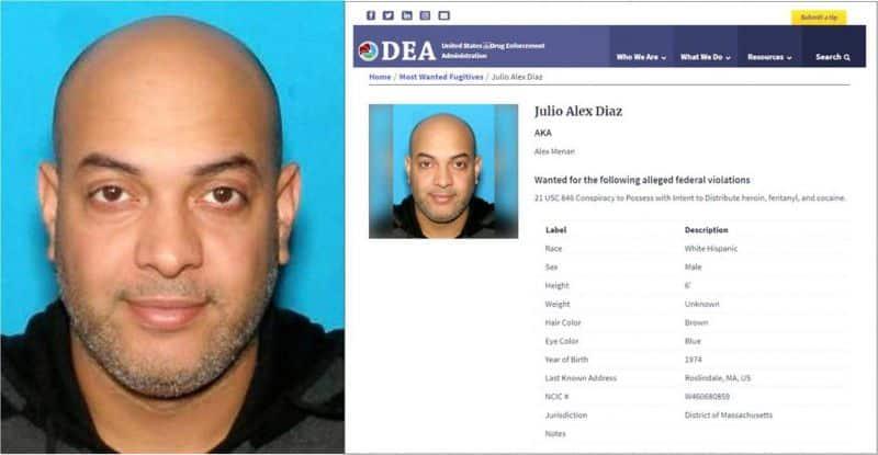 Dominicano encabeza lista DEA