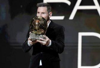 Messi gana sexto Balón de Oro
