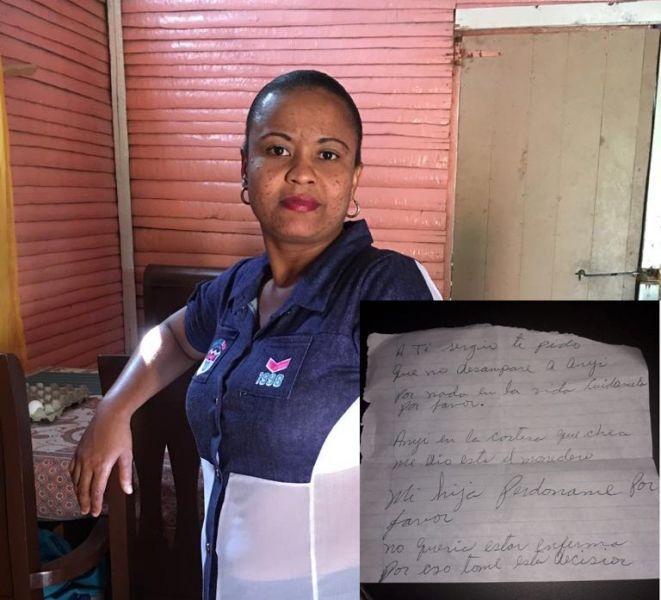 Mujer se suicida en La Vega