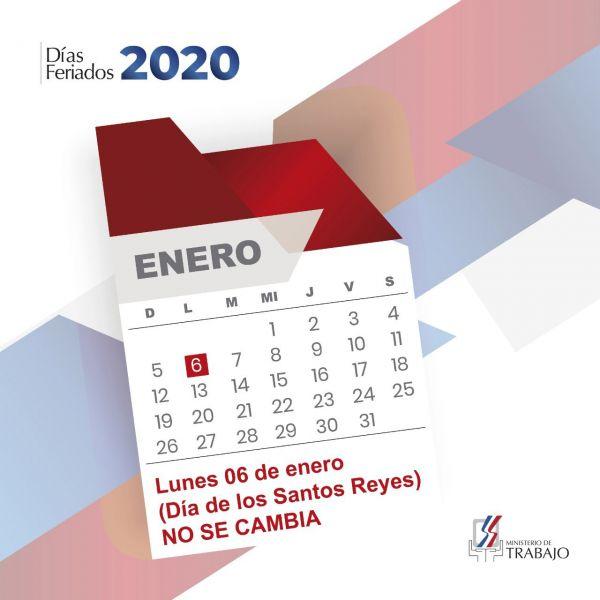 """Reiteran feriado """"Día de los Santos Reyes"""" no se cambia"""