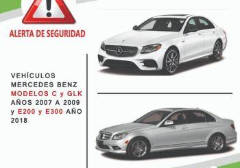 Mercedes Benz llama a revisión 249 modelos de la marca