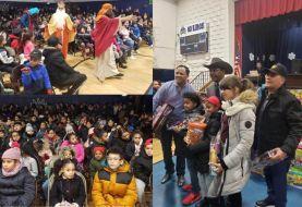 Díaz celebra Día de Reyes entregando juguetes a niños del Bronx