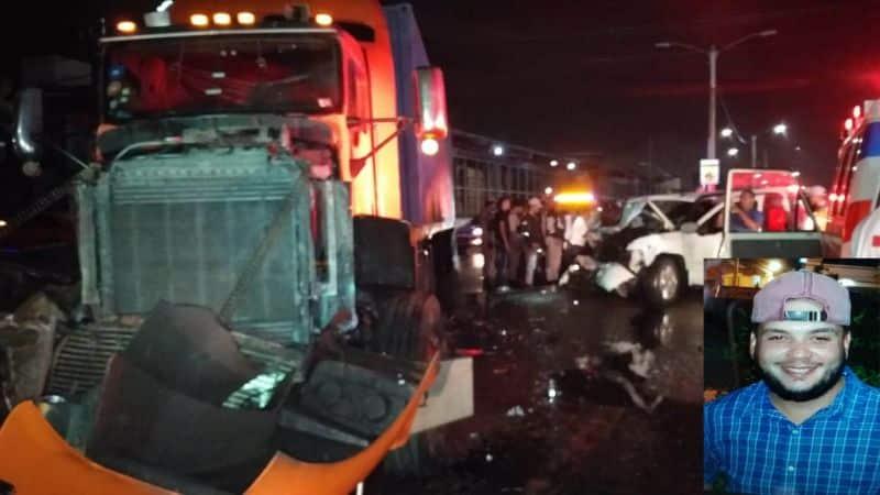 Un muerto y 4 heridos accidente patana y camioneta