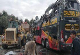 Al menos 15 muertos accidente de tránsito en el sur de Perú