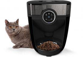 Alimentador automático de gatos habilitado para Wi-Fi