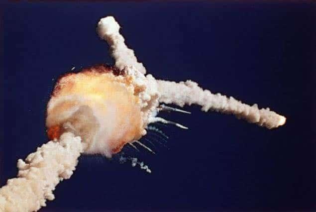 Recuerdan explosión del transbordador Challenger