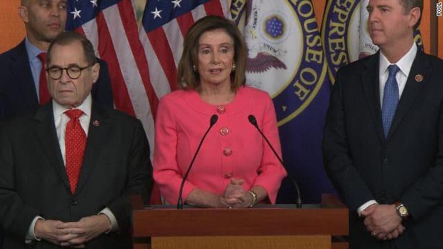 Cámara aprueba enviar artículos juicio político Donald Trump