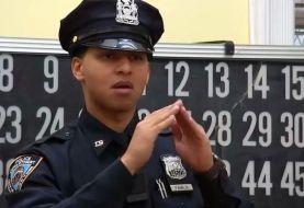 Primer oficial NYPD en hablar por señas