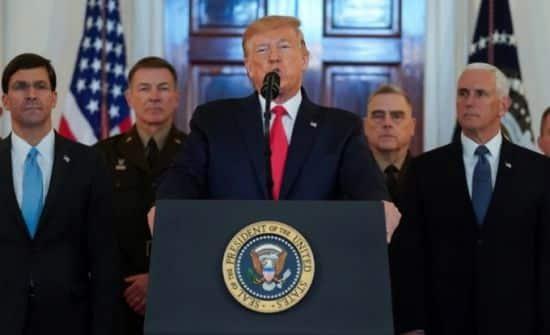 presidente donald trump habla