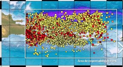 Cuántos sismos se han registrado en el sur de Puerto Rico?