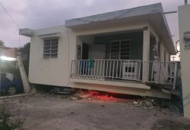 Sismo provoca daños en viviendas en Puerto Rico