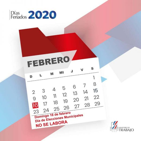 ¿Por qué el domingo 16 de febrero no se labora?