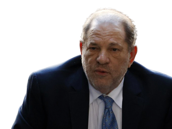 Celebran condena contra  Harvey Weinstein