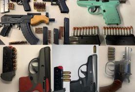 Policía incauta armas de fuego en poder de delincuentes en El Bronx