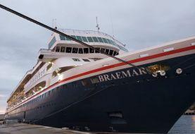 Salud confirma hay pasajeros y tripulantes de crucero enfermos