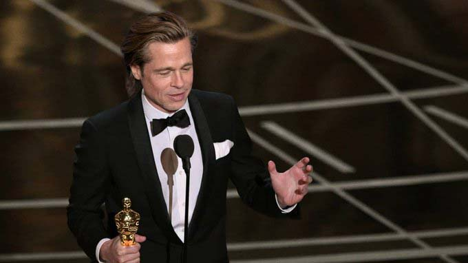 Brad Pitt ganó su primer Oscar como mejor actor de reparto