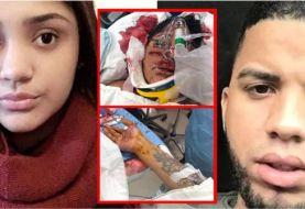 Dominicana grave tras ser lacerada a machetazos por exmarido