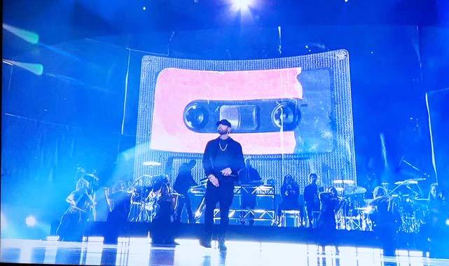 Eminem con presentación sorpresa en los premios Oscar 2020