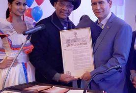 Juez Ramón Arístides Madera reconocido en NY