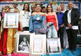 Carnaval de Santiago reconoce a Maridalia Hernández