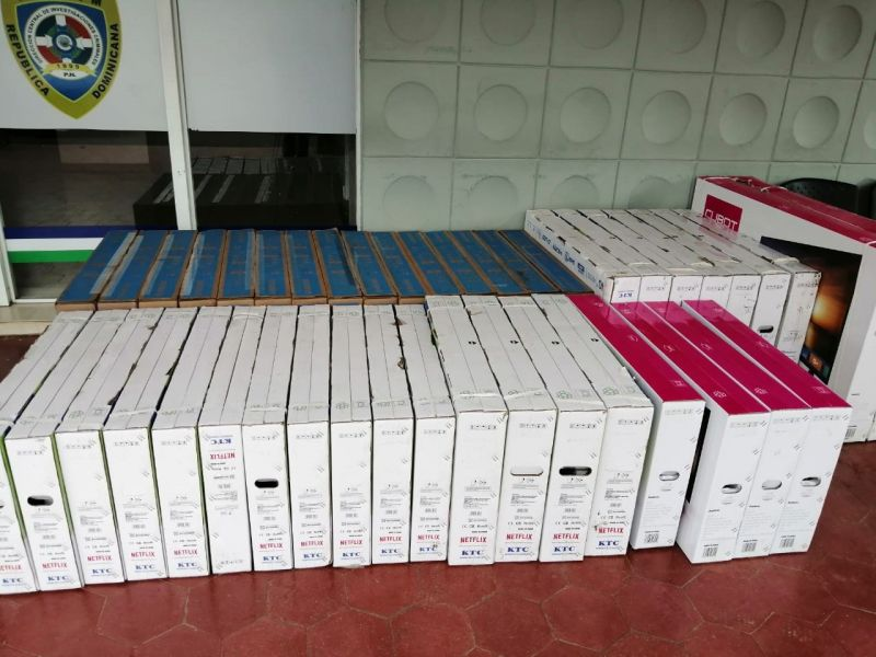Recuperan 61 televisores de 70 robados en Cecomsa