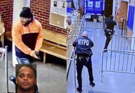 Afroamericano penetra a cuartel de El Bronx dispara y hiere policía