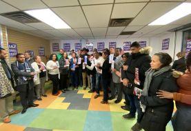 Inauguran comandado campaña reverendo Díaz en El Bronx