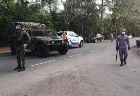 Autoridades impiden entrada y salida vehículos en SFM