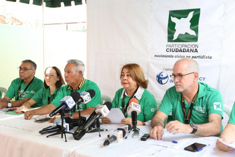 PLD y PRM compran votos dice Participación Ciudadana