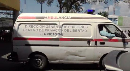 ambulancia dirección de prisiones