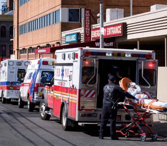 cadáveres hospitales NYC