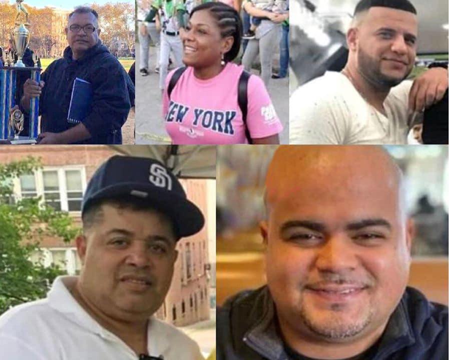 Dirigentes deportivos dominicanos mueren en NY por coronavirus