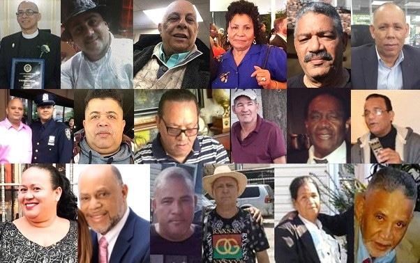 Más de 500 muertes de dominicanos en EE.UU. por coronavirus