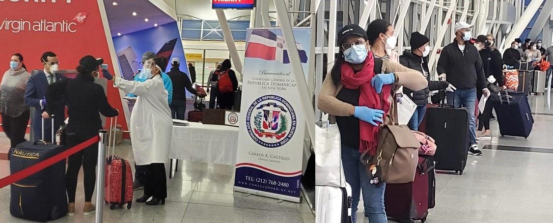 Despachan otro avión con dominicanos varados en EE.UU.