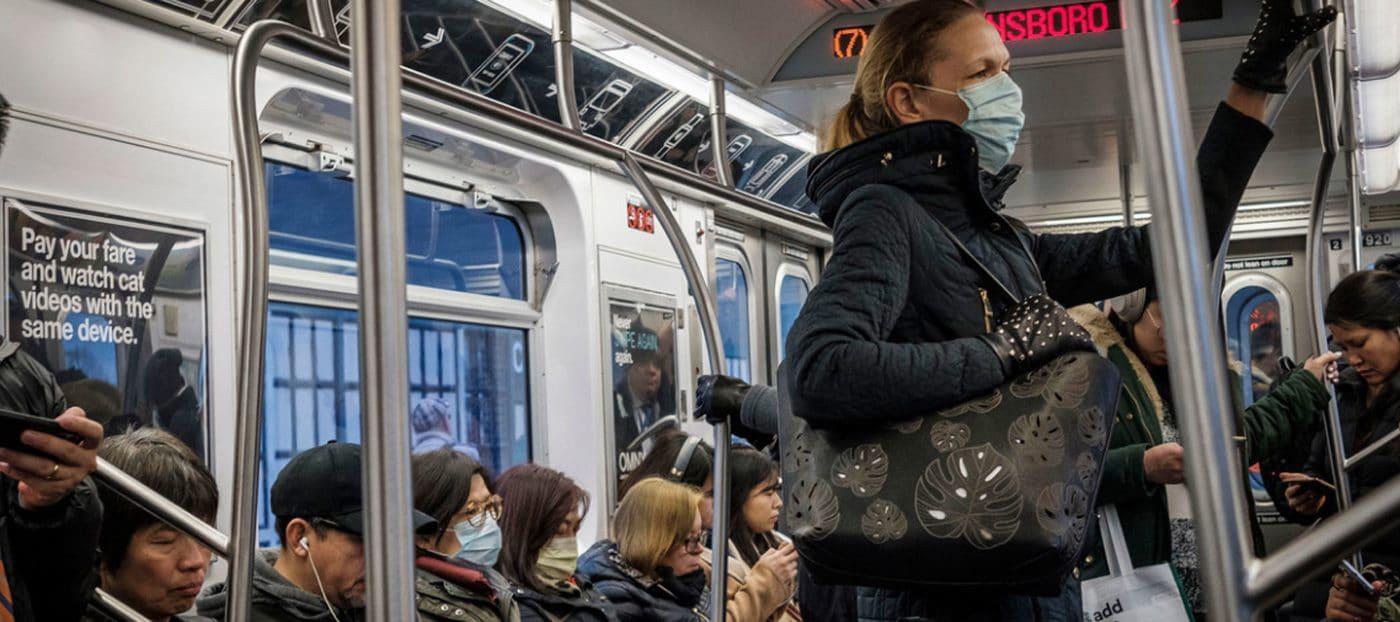 Trenes y autobuses de Nueva York principales focos contagio
