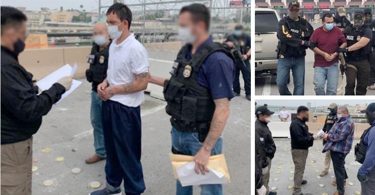 ICE atrapa a 3 mexicanos buscados por homicidios