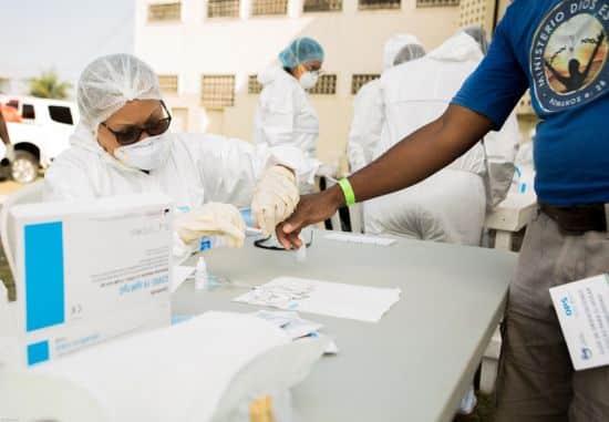 prueba coronavirus covid-19 cárcel la victoria