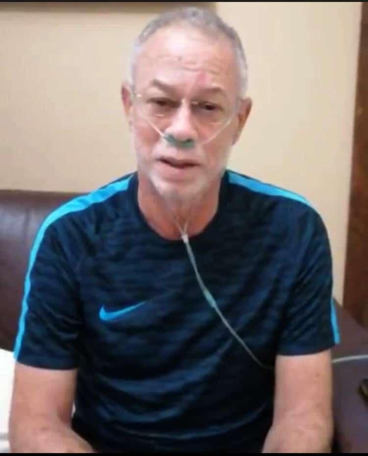Profesor Izquierdo dice continúa recuperándose del coronavirus
